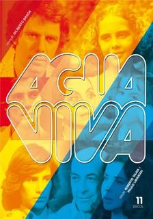 Dvd Box Agua Viva - Novela - 11 Unidades (989012)