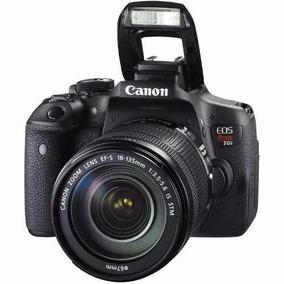 Câmera Eos Rebel T6i 18-135 3.5-5.6 Usm C/n.fiscal E Seguro