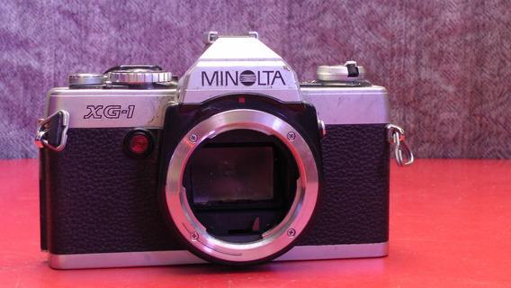 Câmera Minolta Xg-1 Para Partes Ou Decoração.