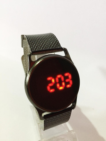 Relógio Watch Led Preto Masculino