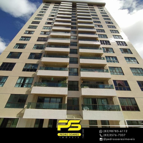 Apartamento Com 3 Dormitórios À Venda, 115 M² Por R$ 600.000 - Miramar - João Pessoa/pb - Ap3964
