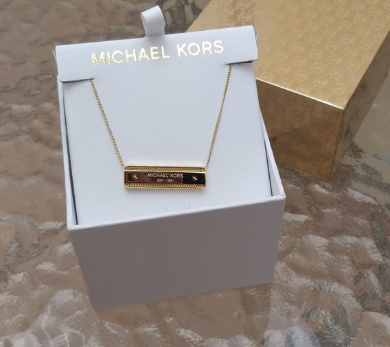 Collar Dije Michael Kors De Placa