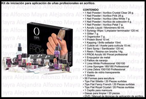 Prokit De Acrílico Profesional By Organic Nails