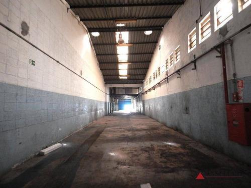 Imagem 1 de 13 de Galpão Para Alugar, 500 M² Por R$ 6.900,00/mês - Planalto - São Bernardo Do Campo/sp - Ga0349