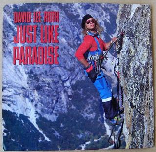 David Lee Roth Just Like Paradise Simple Single Import 1987