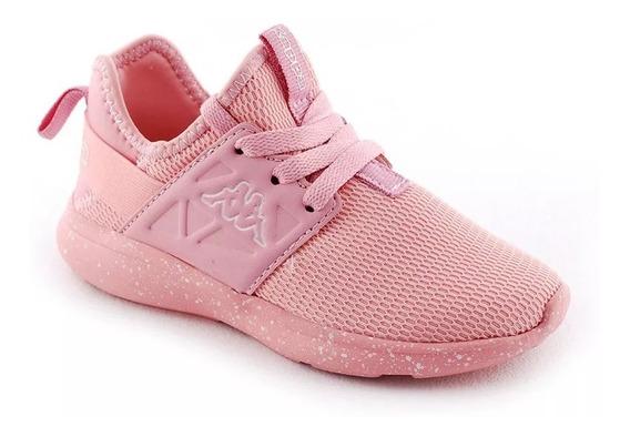 Zapatilla Niña Kappa San Antonio Infantil Rosa