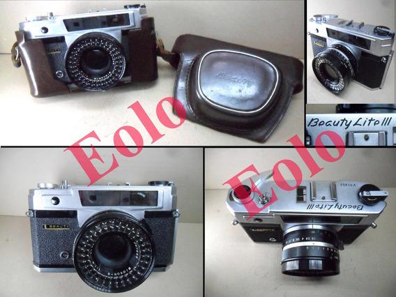Beauty Lite 3 * Antiga Camera 35mm Coleção Decoração Usar #