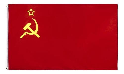 Imagen 1 de 2 de Bandera De La Unión Soviética (urss) 90x150 Cm