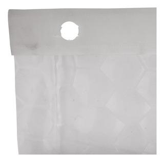 Cortina 180 Cm X 180 Cm Pe3004a 3d Baño Transparente Peva