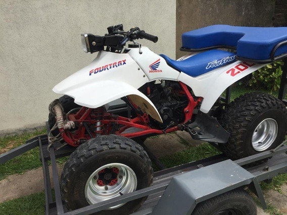 Honda Fourtrax 200 Con Trailer