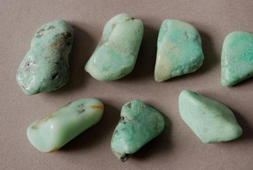 Piedra Crisoprasa Rolada Nro. 2