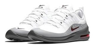 Tenis Nke Air Max Axis Blanca Plata Original + Envgratis