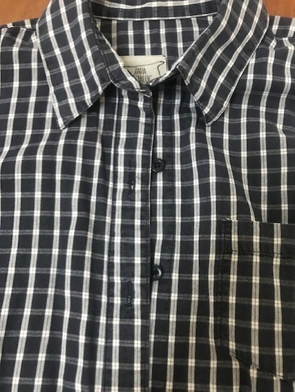Zara Camisa Talle S/m Impecable