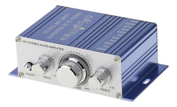 12v Hifi Amplificador Auditivo Estéreo Telefone Alto-falant