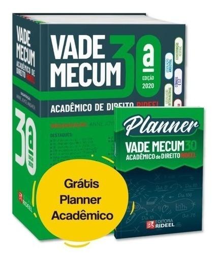 Vade Mecum Acadêmico De Direito Rideel 2020