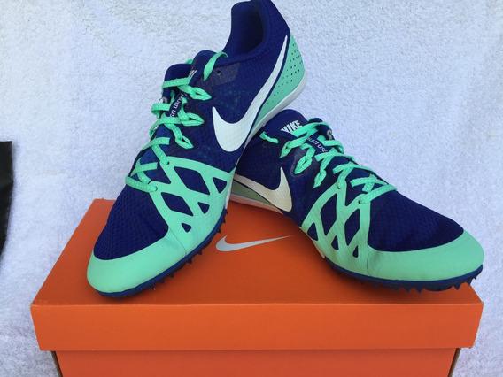 Zapatillas De Atletismo C/clavos. Cel/nagra Consultar Talle