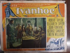Poster Filme Ivanhoe # 3308