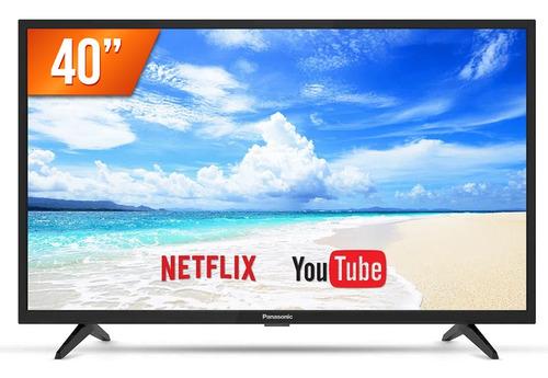 Imagem 1 de 4 de Smart Tv Led 40  Full Hd Panasonic Tc-40fs500b 2 Hdmi 2 Usb