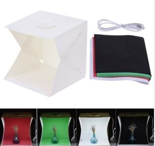 Caja De Luz Para Foto Estudio De Fotografía Box Led 40 X 40