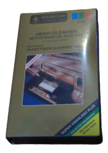 Head Cleaner Vcr Cassette Limpiacabezales De Video