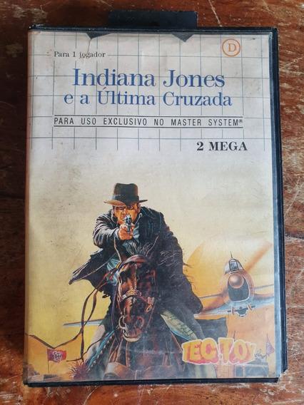 Indiana Jones E A Última Cruzada - Master System