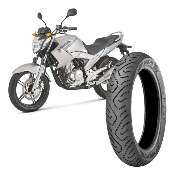 Pneu Moto Fazer 250 Technic 130/70-17 62s Traseiro Sport