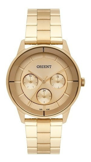 Relógio Orient Original Femiino Dourado Fgssm057