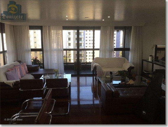 Apartamento Com 3 Dormitórios À Venda, 180 M² Por R$ 800.000 - Jardim - Santo André/sp - Ap4852