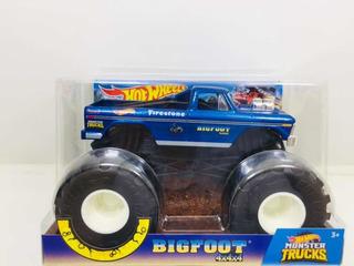 Miniatura Monster Truck Big Foot Pickup 1/24 Hot Wheels 2019