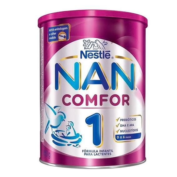 Kit 2 Leite Nan Comfor 1 800g - Nestlé - Nutrição Infantil