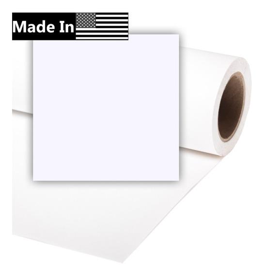 Fundo Fotográfico Branco Papel 93 Arctic White 2,70 X 11m