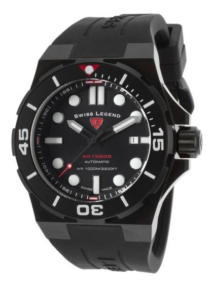 Relógio Automático Suíço Swiss Legend Abyssos 2.0