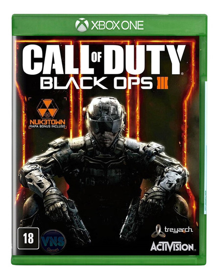 Call Of Duty Black Ops 3 + Nuk3town Map - Xbox One - Lacrado
