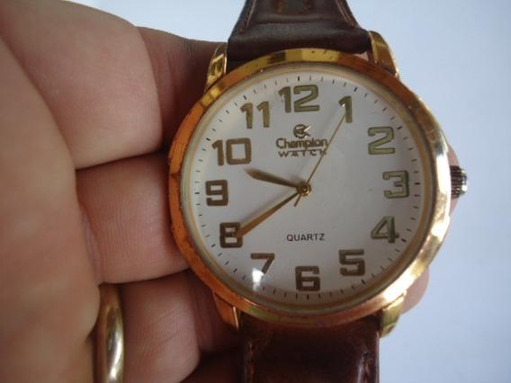 Relógio Champion Watch Analógico Masculino Dourado
