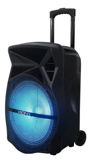 Caixa Som 6000w Amplificada Bluetooth Ativa Grave 15p Usb Fm