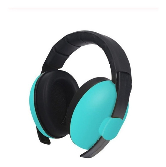 Bebê Crianças Anti Ruído Headmuffs Headset Verde Escuro
