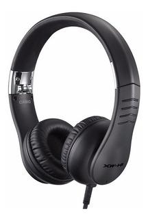 Auricular Casio Xw H1 Circumaurales De 40mm Negro