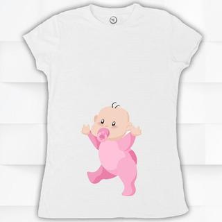 Blusa / Playera Hombre O Mujer Cue Baby Bebe Embarazada #530