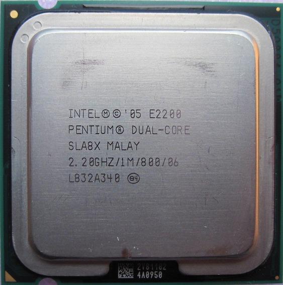 Lote De Processadores Intel Lga 775 Dual-core E2160 5 Peças