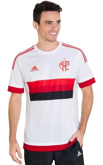 Camisa adidas Flamengo Oficial 2 2015 + Nota Fiscal Ctsports