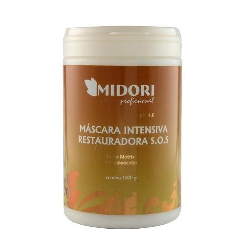 Midori Profissional Sos- Mascara De Reconstrução Intensa 1kg