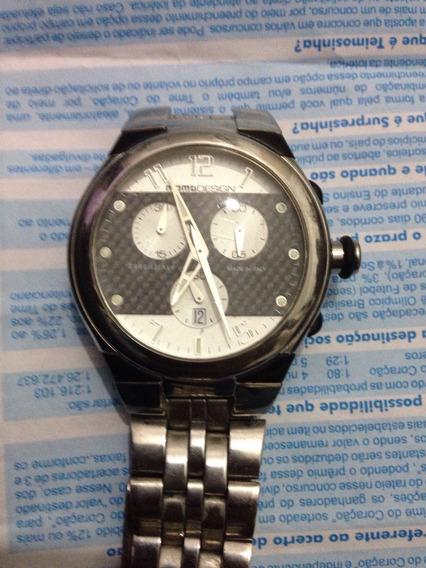 Vendo Relógio Momo Design Original Máquina Swiss 23 Rubins