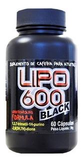 Emagrecedor Lipo 600 Black 60 Caps - Red Series