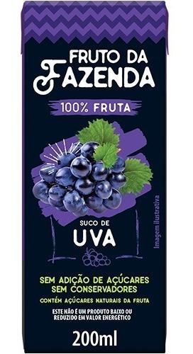 Suco De Uva 100% Tetra 200ml