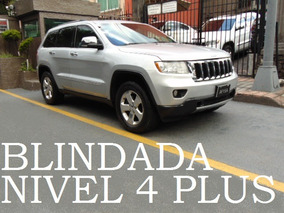 Grand Cherokee 2013 4x4 Blindada Nivel 4+ Blindaje Blindados