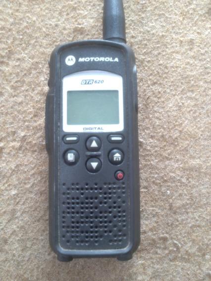 Rádio Portátil Digital Dtr 620 Motorola Usado