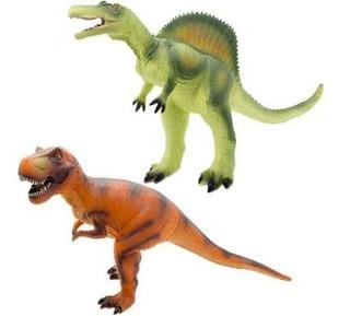 Dinosaurio De Goma Soft Grande 50cm Funny Land Cresko Ft620
