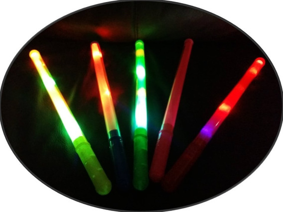 40 Barra Luminosa Luz Led Colores Baston Espada Fiesta Boda
