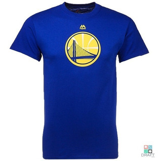 Camisa Majestic Nba Gsw Warriors Curry Thompson Draft Store