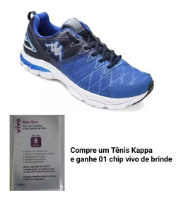 Tênis Kappa Original Promoção Compre E Ganhe 01 Chip
